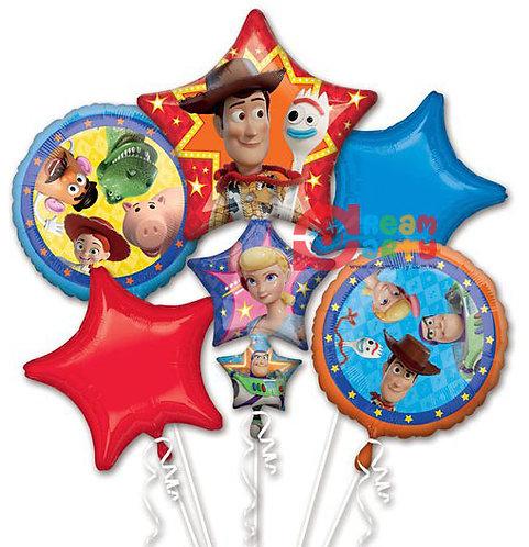 Toy Story Helium Balloon Bouquet - bq64