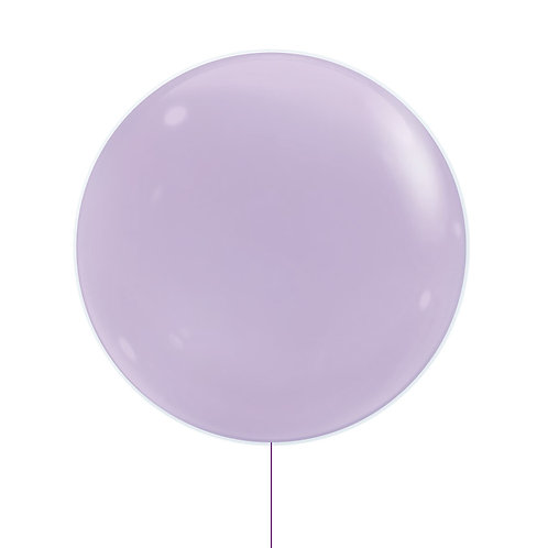 "22"" Jewel Bubble Balloon - Fashion Lilac"