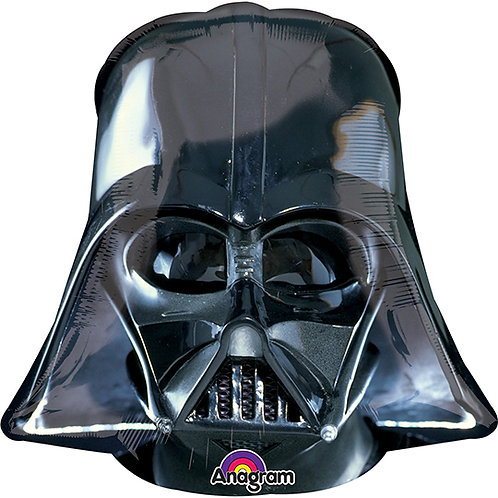 "30"" Darth Vader Head Helium Balloon - y10"