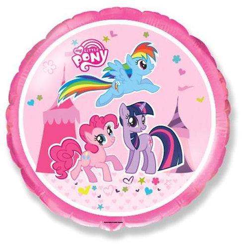 """18"""" My Little Pony Twilight & Pinkie & Rainbow Helium Balloon - y53"""