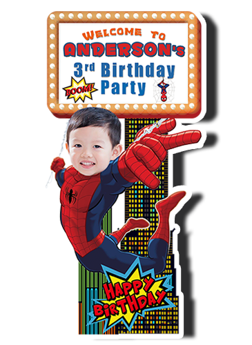 Spiderman welcome standee.png