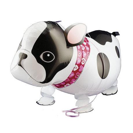 "18"" Bulldog Walking Pet Helium Balloon - wp18"