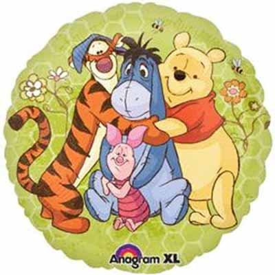 "18"" Winnie the Pooh & Friends Helium Balloon - w04"
