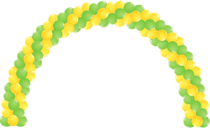 Yellow spiral-balloon-arch.png