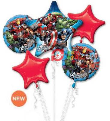 Avengers Helium Balloon Bouquet - bq43