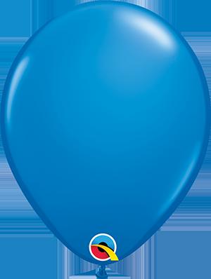 "11"" Standard Latex Balloon - Mid Blue"