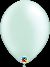 """11"""" Pearl Latex Balloon - Pastel Pearl Mint Green"""