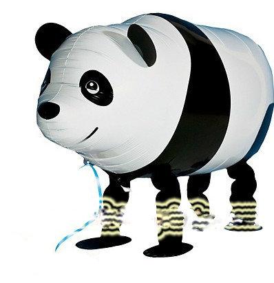 """18"""" Panda Walking Pet Helium Balloon - wp02"""