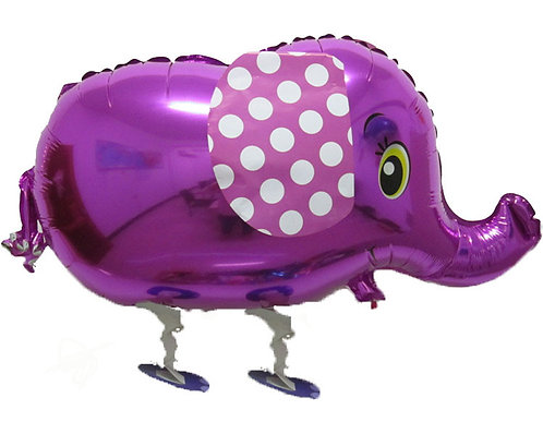 "18"" Elephant Walking Pet Helium Balloon - wp01"