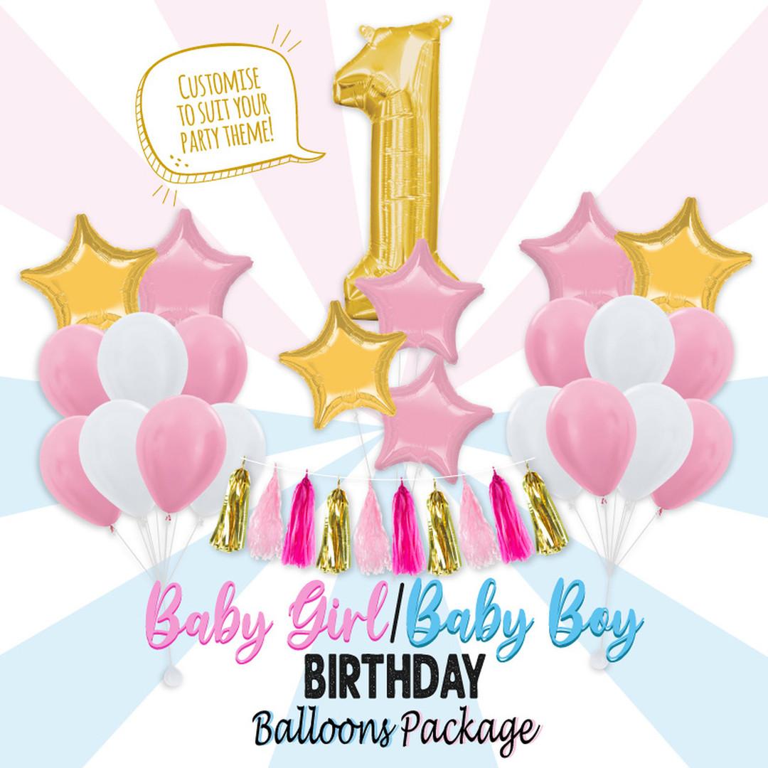 BabyBoy-BabyGirl-Birthday-Balloon-Packag