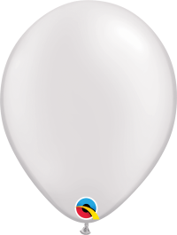 "11"" Pearl Latex Balloon - Pearl White"