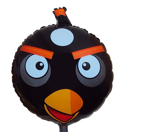 "18"" Angry Bird Bomb Helium Balloon - ab03"