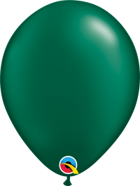 """11"""" Pearl Latex Balloon - Pearl Forest Green"""