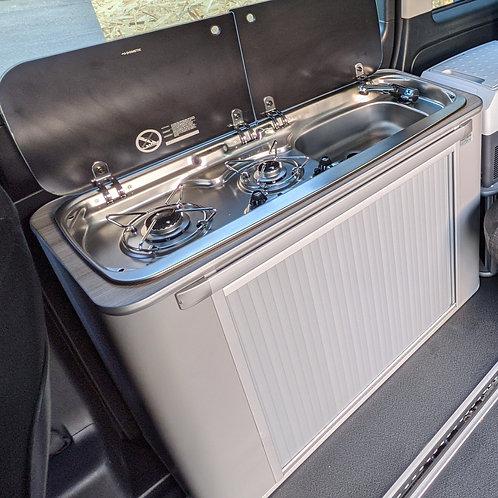 IN STOCK-Vangear Maxi Campervan Pod-GREY/grey top
