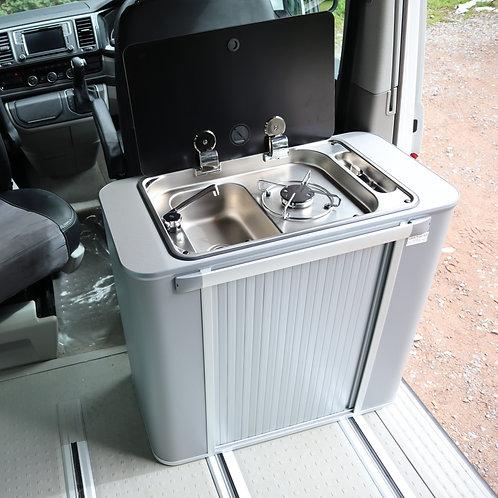 IN STOCK-Vangear Kombi 3 Campervan Pod-GREY/grey top