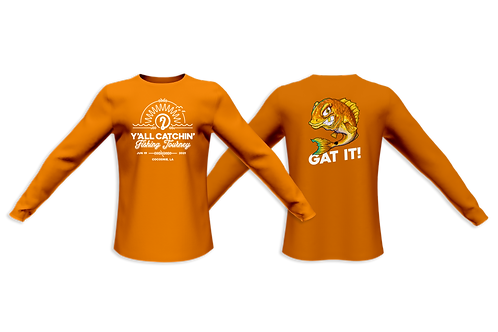 Y'all Catchin' Tournament Shirt 2021