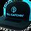 Thumbnail: Y'ALL CATCHIN' LOGO SNAPBACK CAP (Neon Blue/Black)