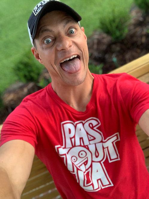 Pas Tout La Y'all Catchin T-Shirt (Red / White)