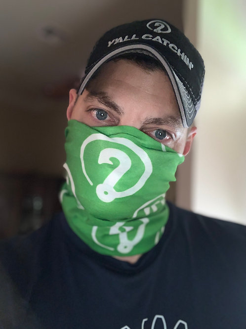 "Y'all Catchin' ""ICON"" Logo SA Company Face Covering"