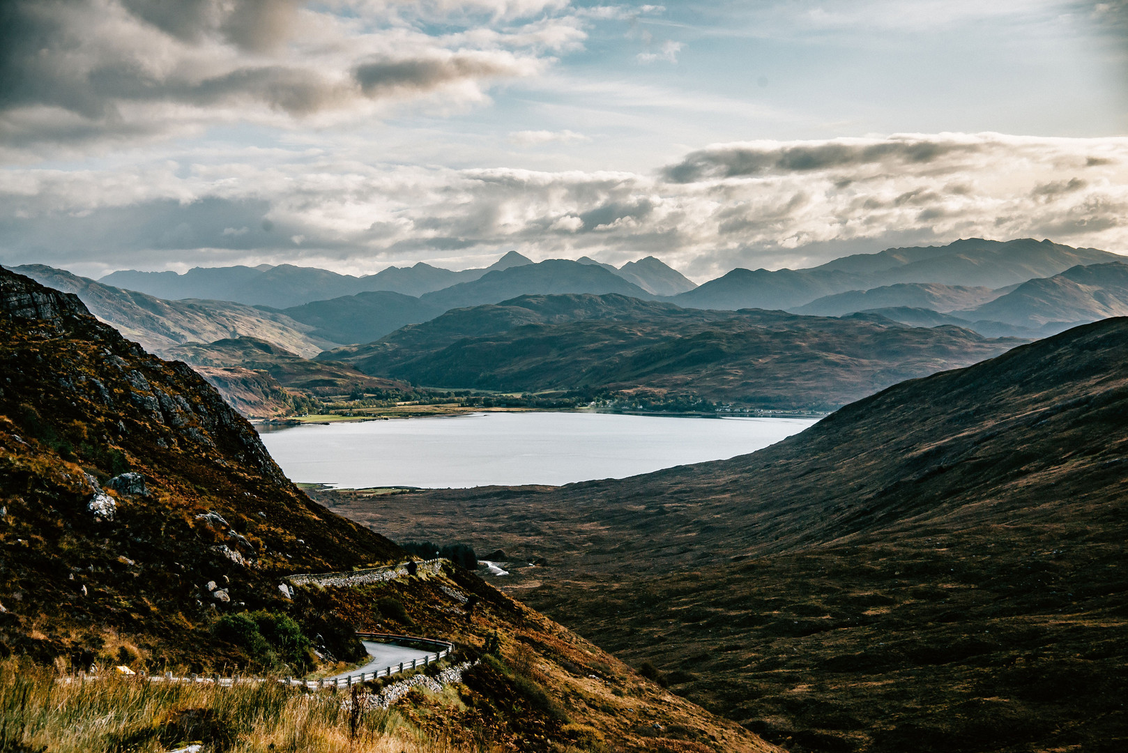 Looking to Glenelg from Kylerhea Pass