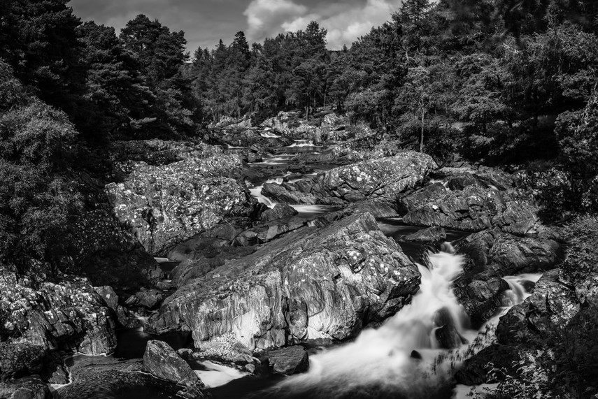 Cassley Falls, Rosehall, Sutherland