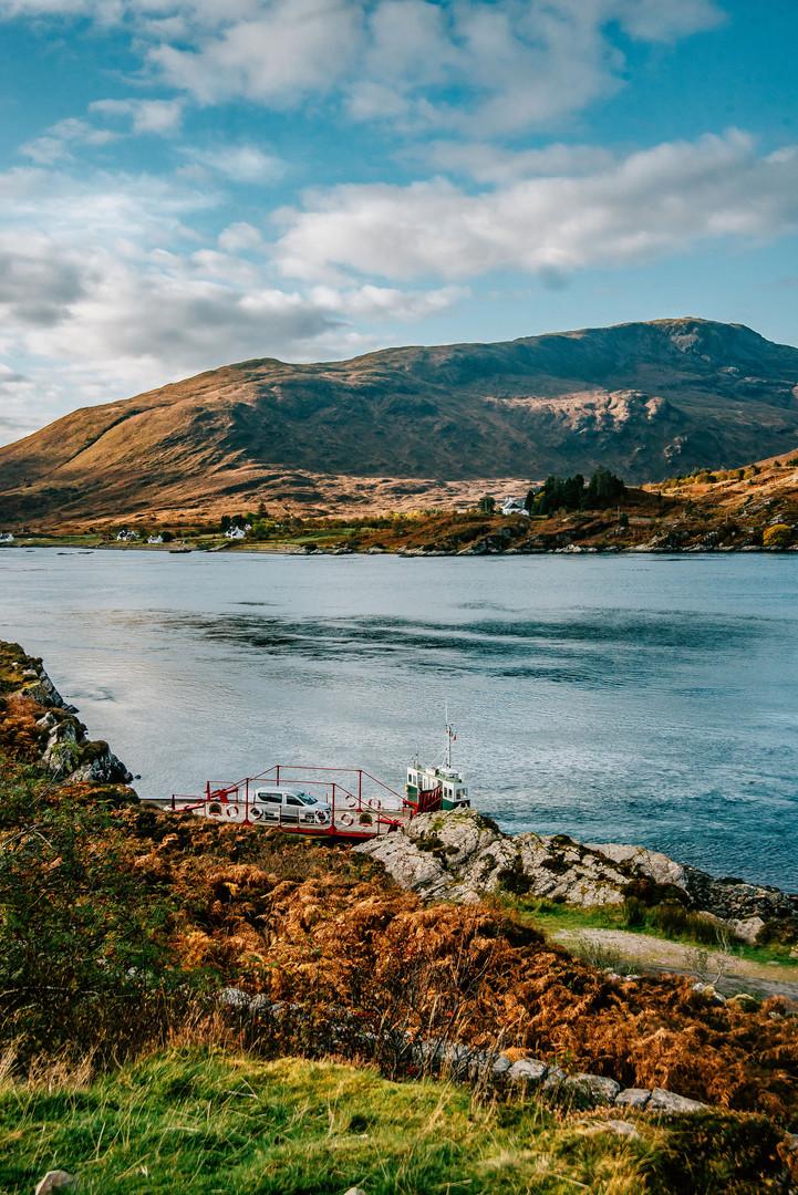 Glenelg Ferry, Kylerhea, Lochalsh