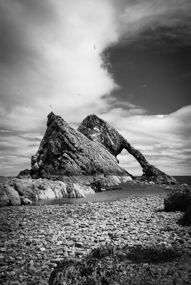 Bow Fiddle Rock, Portknockie, Aberdeenshire