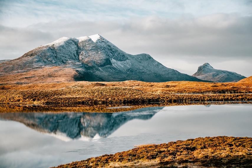 Winter Cul Beag, Sutherland