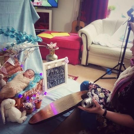 Newborn Photography: We all start somewhere