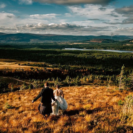Cairngorms Elopement - Kirsty & James