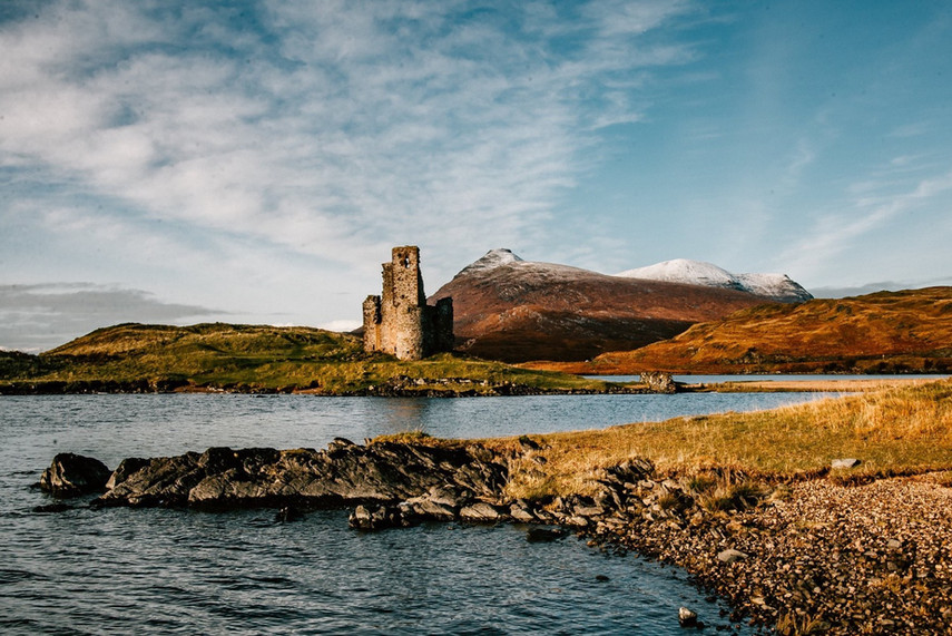 Adverck Castle, Assynt