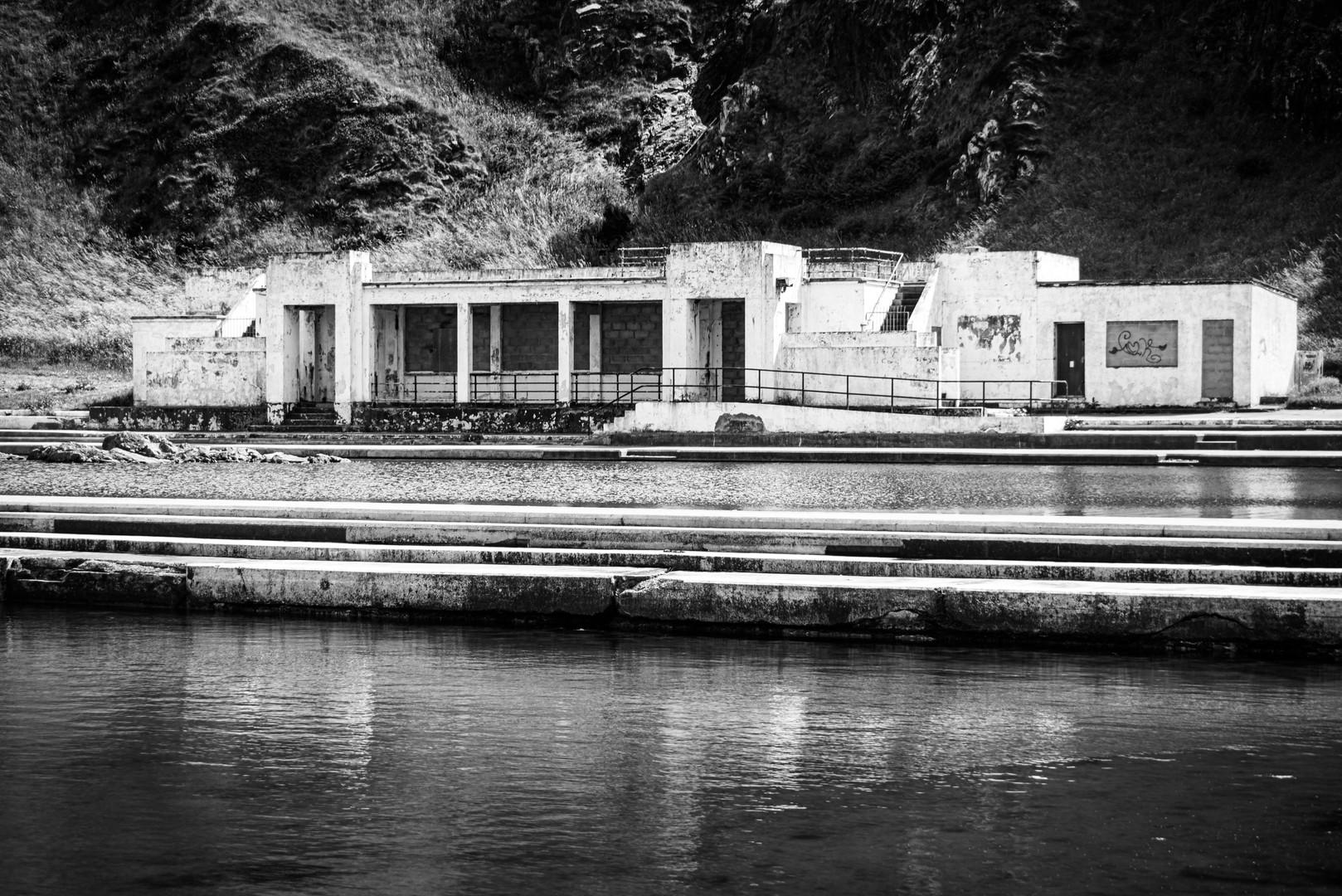 Tarlair Pool, Macduff, Aberdeenshire