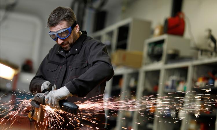ESSILOR Pro-Safety - Lunettes de protection certifiée (norme EN166)