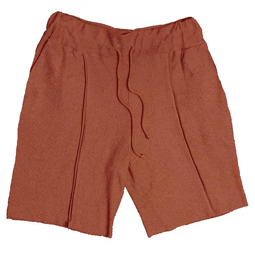 FRENCH TERRY SHORTS- RUST