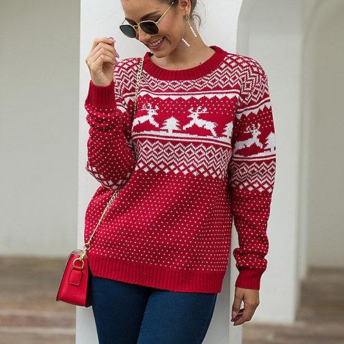 Christmas Reindeer Women Sweater