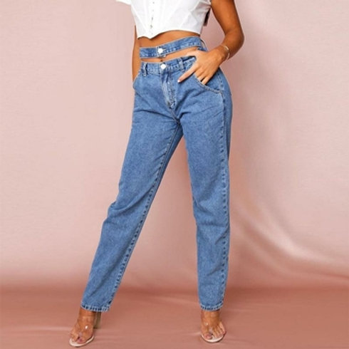 women fashion denim jeans long pants