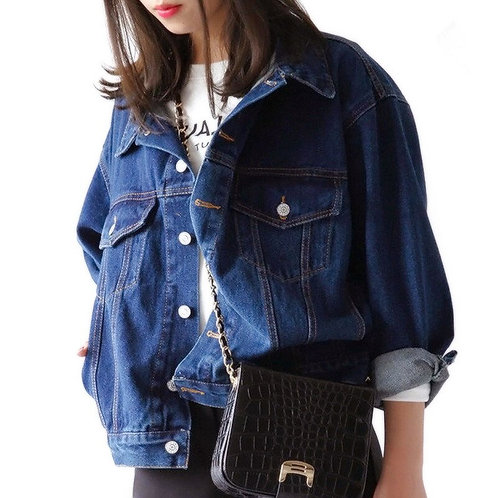 Plus Size  Denim Jeans Jacket