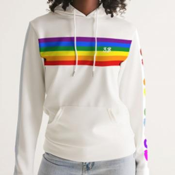 Women's Pride Strips Hoodie