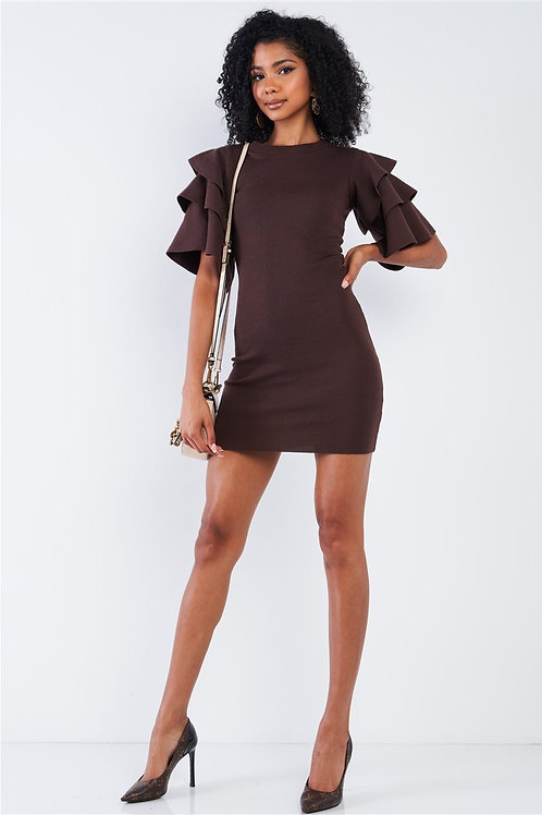"""Brown Sugar"" Dress"