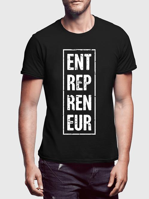 Entrepreneur Vertical Half Sleeves T-shirt