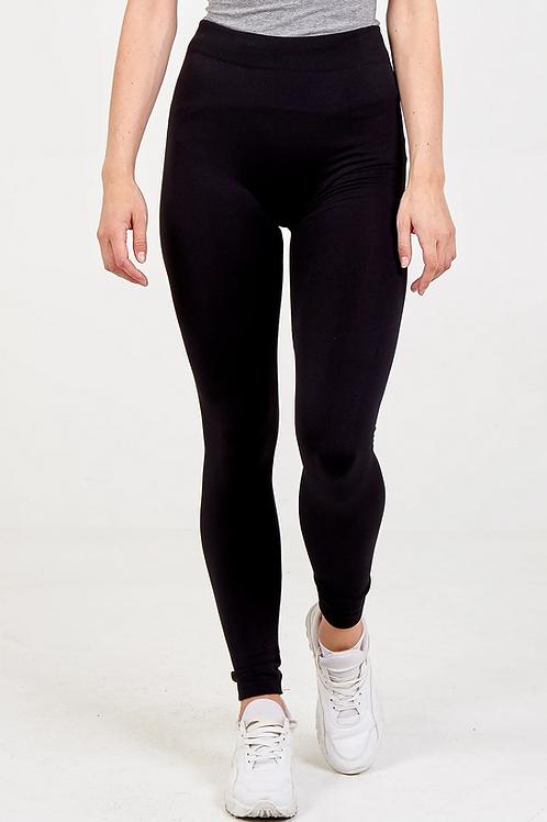 Basic Seamless Leggings - Black