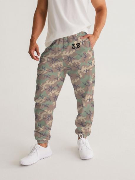 3B Camouflage Men's Joggers