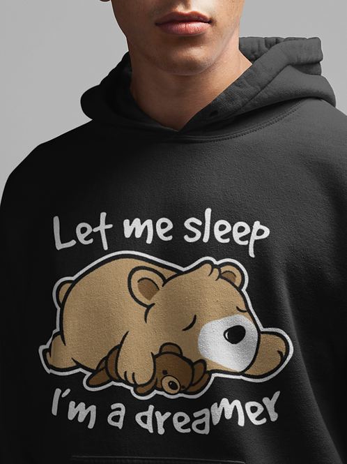 Let Me Sleep HOODIE