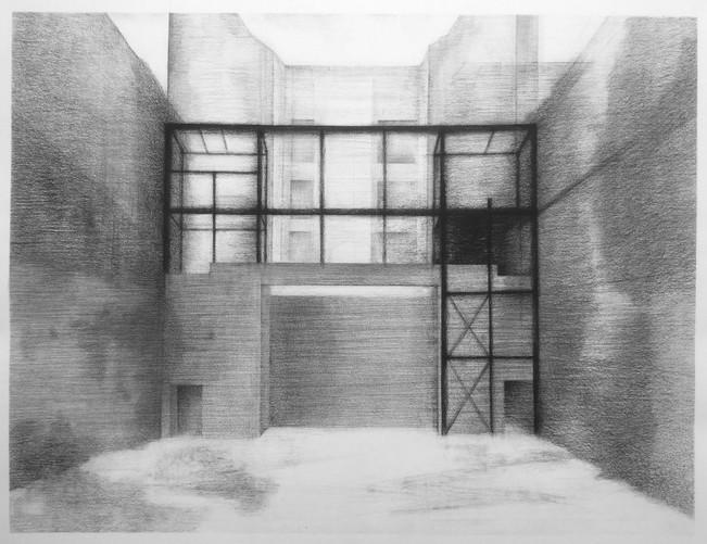 Le chantier de la Scala Paris, dessiné