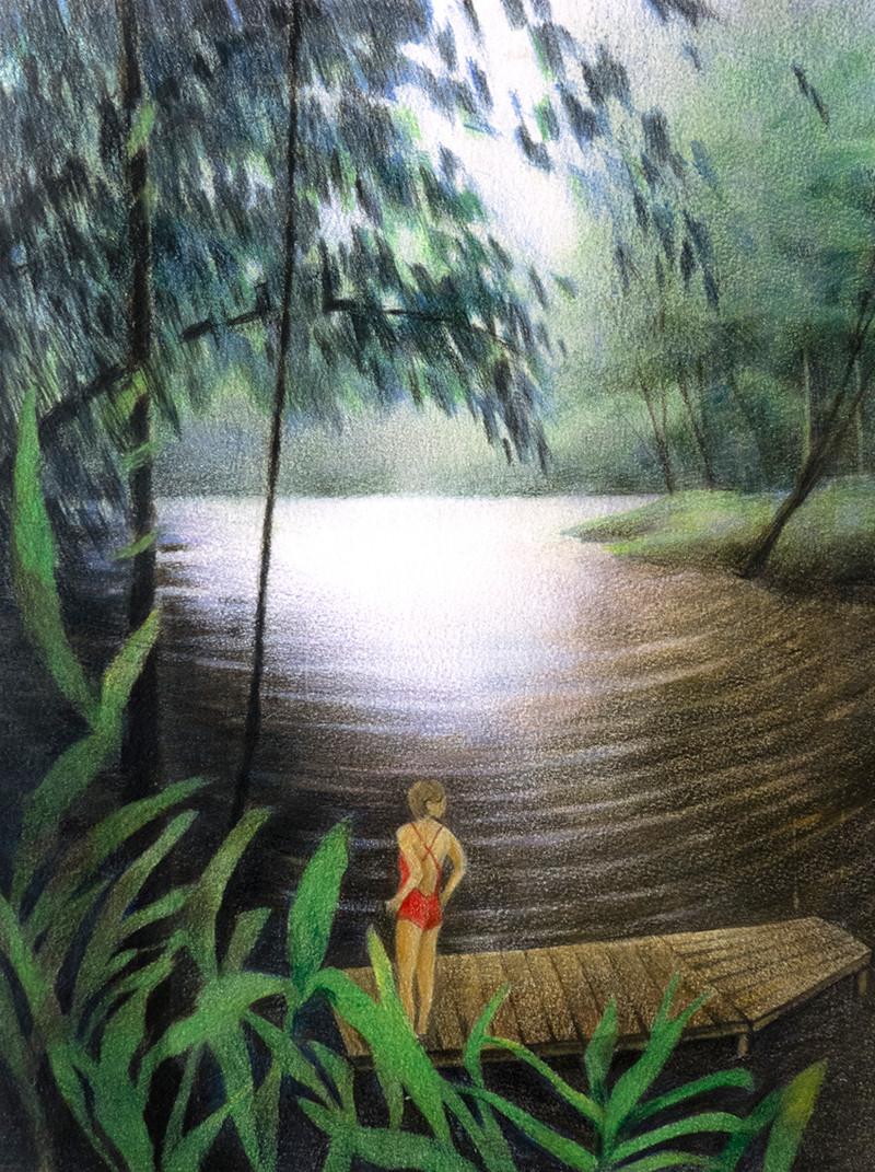 Crique de bagne des Annamites