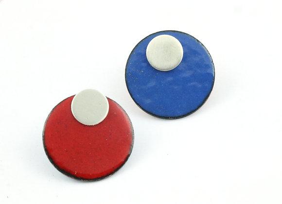 Smal circle red/blue