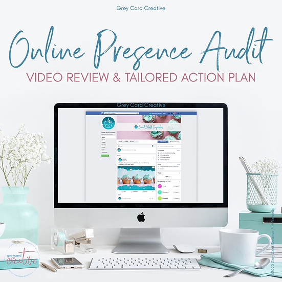 Online Presence Audit - Review all your online streams