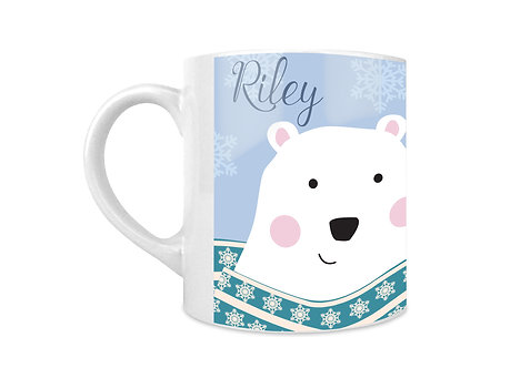 Polar Bear Personalised Mug