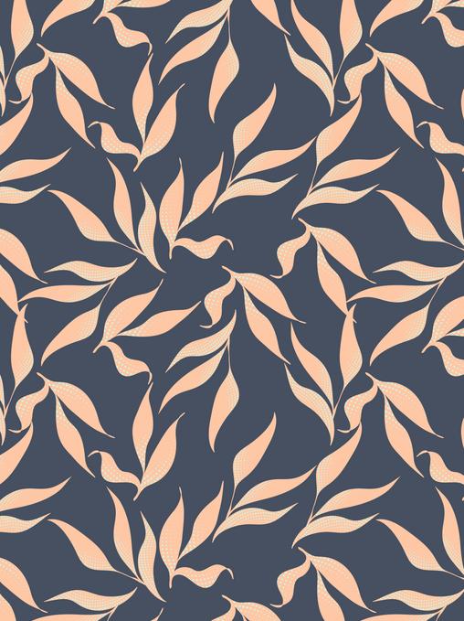 Surface Pattern Design Leaves Textile Design Fabric UK