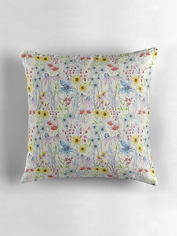 English Meadow Cushion